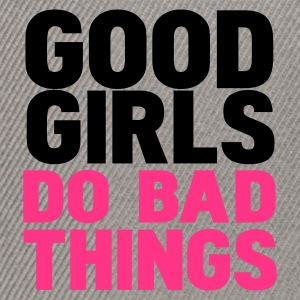 Szary melanż good girls do bad things Bluzy - Czapka typu snapback