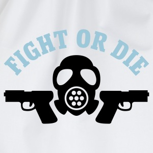 Weiß Paintball - Fight or die © T-Shirts - Mochila saco