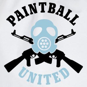 Weiß Paintball United © T-Shirts - Mochila saco