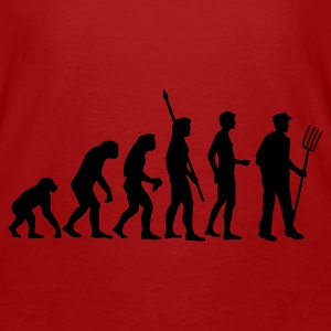 Red/white evolution_bauer_b Bags  - Men's Organic T-shirt