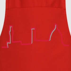 Skyline Firenze t-shirt red - Grembiule da cucina
