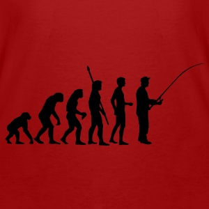 Red/white evolution_fishing Bags  - Men's Organic T-shirt
