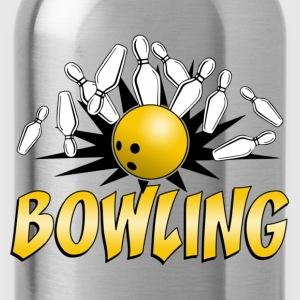 Rouge bowling 2 T-shirts - Gourde
