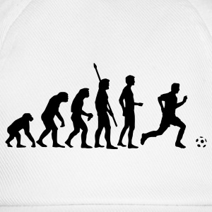 White evolution_fussball  Aprons - Baseball Cap