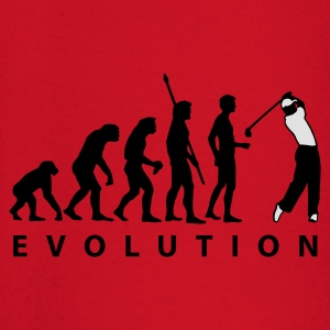 Red evolution_golf_a_2c  Aprons - Baby Long Sleeve T-Shirt
