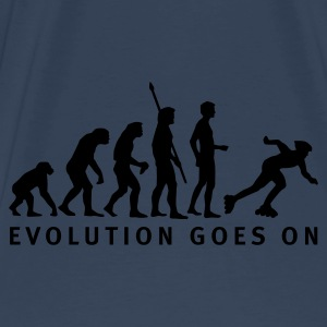 Navy/white evolution_inliner_b_1c Bags  - Men's Premium T-Shirt