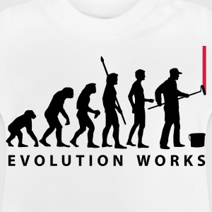 White evolution_maler_a2_2c Kids' Shirts - Baby T-Shirt
