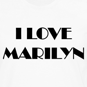Blanc marilynbroadway T-shirts - T-shirt manches longues Premium Homme