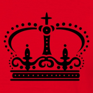 Red Crown with cross Coats & Jackets - Men's T-Shirt