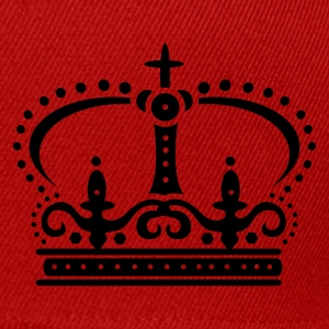 Red Crown with cross Coats & Jackets - Snapback Cap