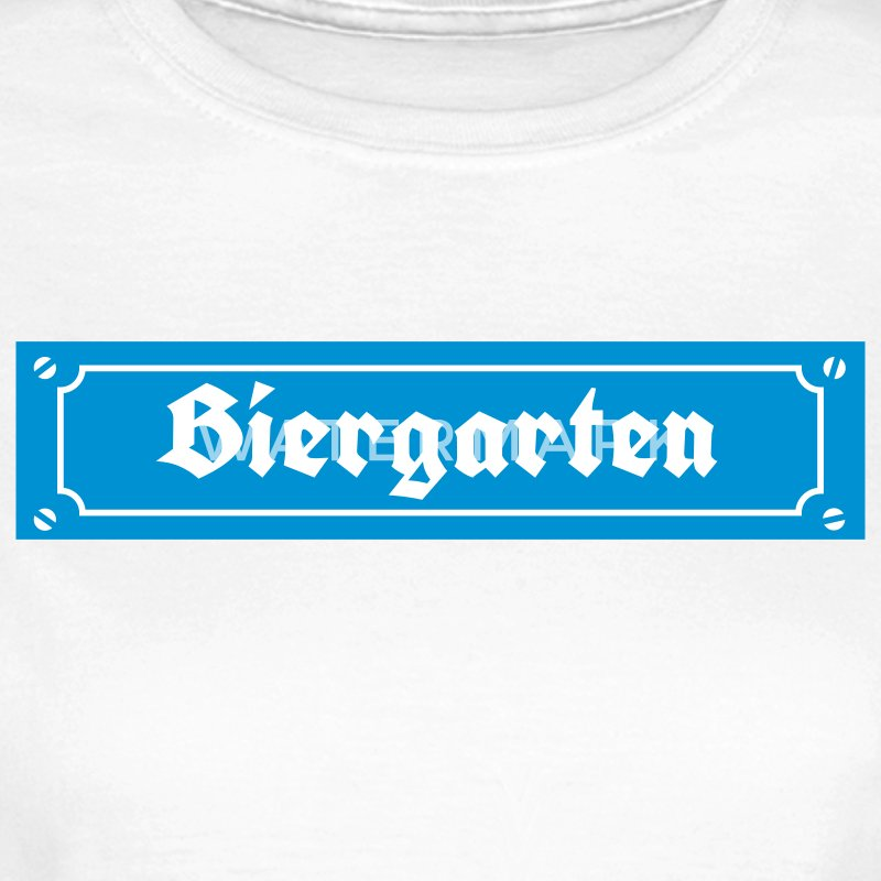 Street sign beer garden - Women's T-Shirt