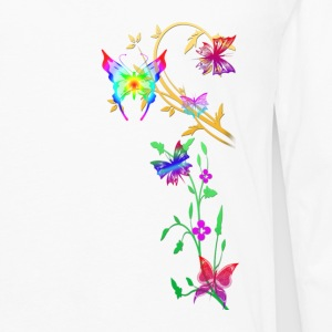 butterflies multi coloured - Men's Premium Longsleeve Shirt