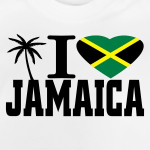 Gris clair chiné i love jamaica Sweats Enfants - T-shirt Bébé