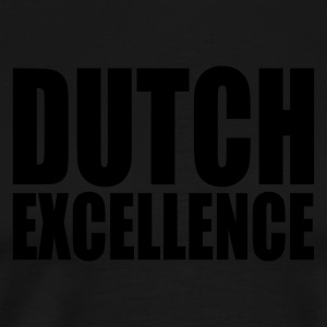 Noir Dutch Excellence Tabliers - T-shirt Premium Homme