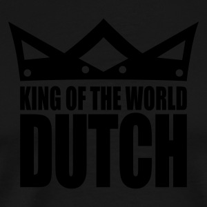 Black Dutch king of the world II  Aprons - Men's Premium T-Shirt