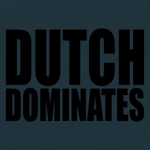 Navy Dutch Dominates Caps & Hats - Men's T-Shirt