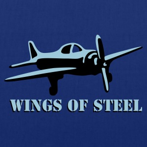 wings_of_steel_2c T-shirts - Tygväska