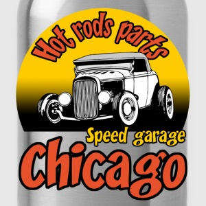 Noir speed garage chicago T-shirts - Gourde