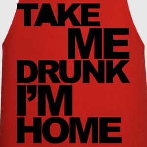 Rouge Take Me Drunk  T-shirts - Tablier de cuisine
