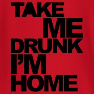 Rood Take Me Drunk  T-shirts - T-shirt