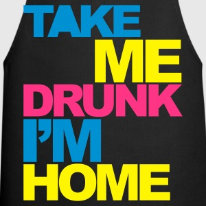 Black Take Me Drunk V2 Men's T-Shirts - Cooking Apron