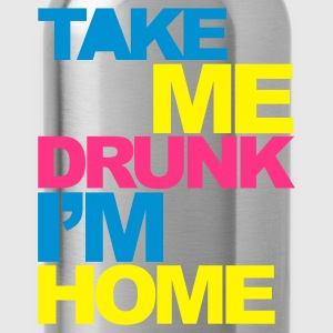 Zwart Take Me Drunk V2 Sweaters - Drinkfles