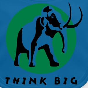 Royalblau mammut_b_2c_think_big Kinder T-Shirts - Baby Bio-Lätzchen