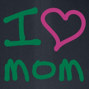 I love mom - Flexfit baseballcap