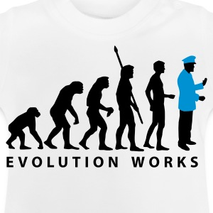 White evolution_uniform_b_2c Kids' Shirts - Baby T-Shirt