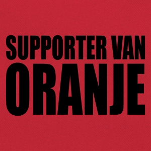 Orange/blanc Supporter van oranje T-shirts - Sac Retro