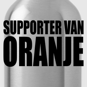 Orange/blanc Supporter van oranje T-shirts - Gourde