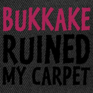 Negro Bukkake Ruined my Carpet 1 (2c) Sudadera - Gorra Snapback