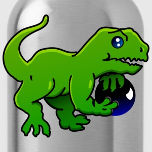 Lila sports-dinos bowling (A, DDP) T-Shirts - Trinkflasche