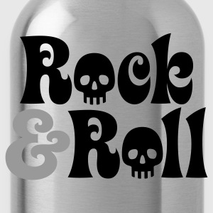 Schwarz Rock & Roll © T-Shirts - Gourde