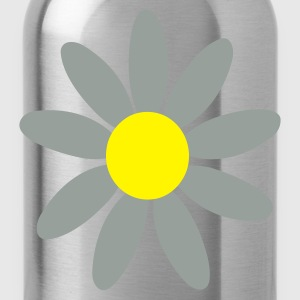 Black Daisy  Men's T-Shirts - Water Bottle
