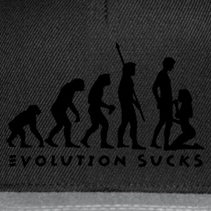 evolution_sucks_b_1c Magliette - Snapback Cap
