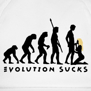 evolution_sucks_b_2c T-shirts - Baseballkasket