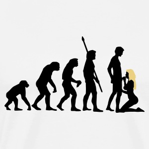 evolution_sucks_a_2c Forklæder - Herre premium T-shirt