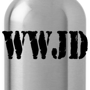 What Would Jesus Do? (black) - Trinkflasche