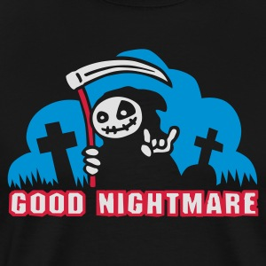 Black good_nightmare_c_3c  Aprons - Men's Premium T-Shirt