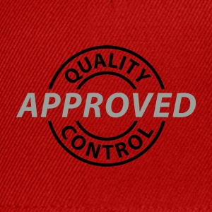Rot Quality Control - Approved © T-Shirts - Snapback Cap
