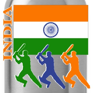 Cricket Players  - India - Water Bottle