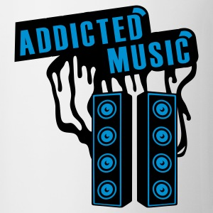 Weiß ADDICTED T-Shirts - Tasse