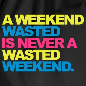 Sort A Weekend Wasted 2 Sweatshirts - Sportstaske