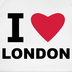 White I love London Men's T-Shirts - Baseball Cap