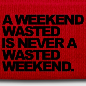 Rouge A Weekend Wasted Sweatshirts - Bonnet d'hiver