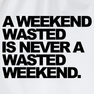 Hvid A Weekend Wasted Sweatshirts - Sportstaske