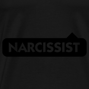 Black Narcissist (1c) Bags  - Men's Premium T-Shirt