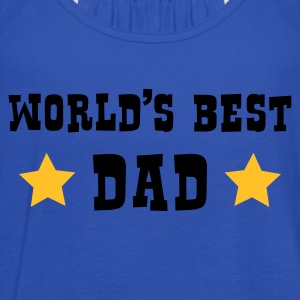 World's Best Dad - Vrouwen tank top van Bella
