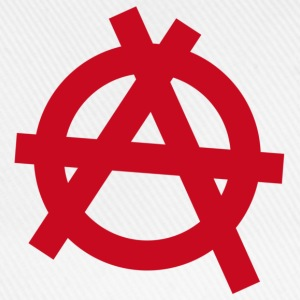 Anarchy | Anarchist symbol t-shirt - Baseball Cap
